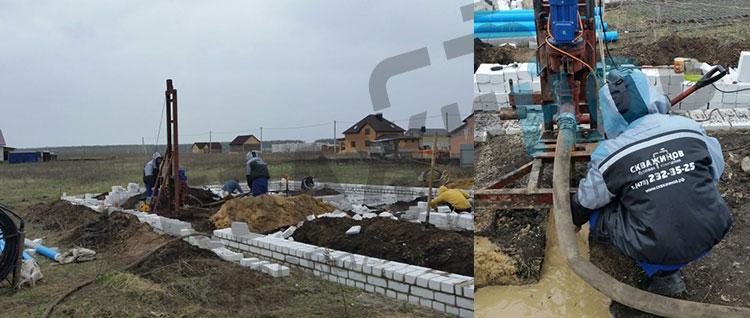Бурение скважин для строительства в Воронеже и области