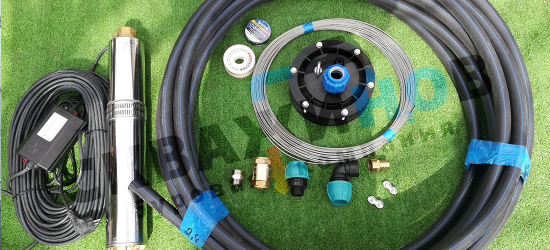 Какая комплектация скважины «под ключ» подходит для ваших потребностей в воде?